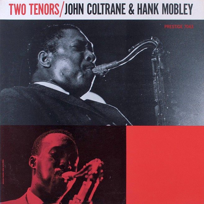 hank mobley - john coltrane - two tenors photo cover 7043