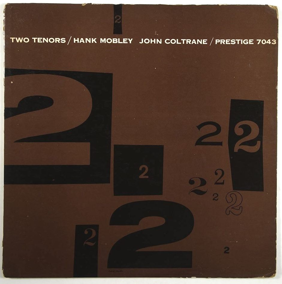 hank mobley - john coltrane - two tenors 7043 first