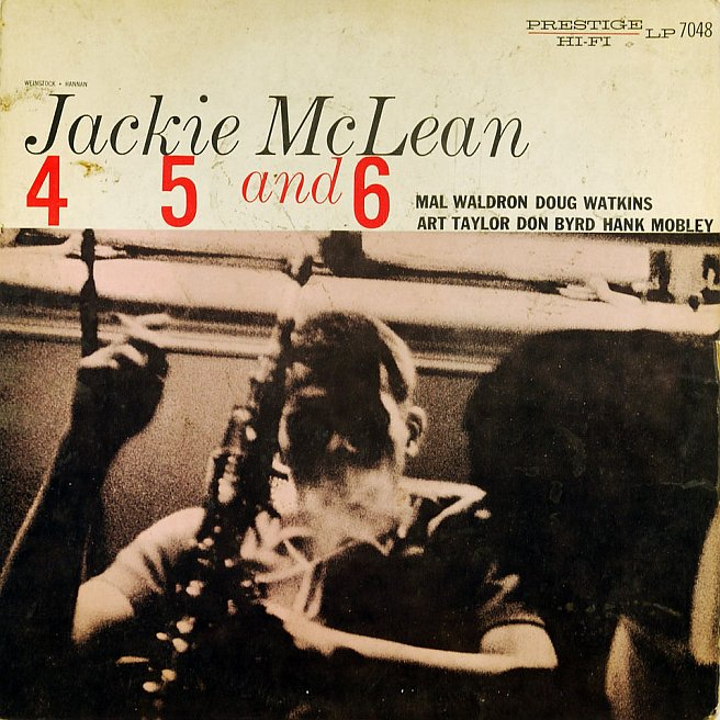 jackie mclean - 4,5 and 6 7048