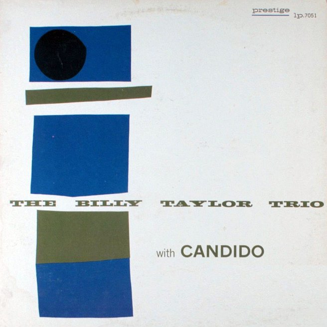 billy taylor with candido 7051