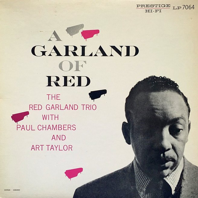 red garland - a garland of red 7064
