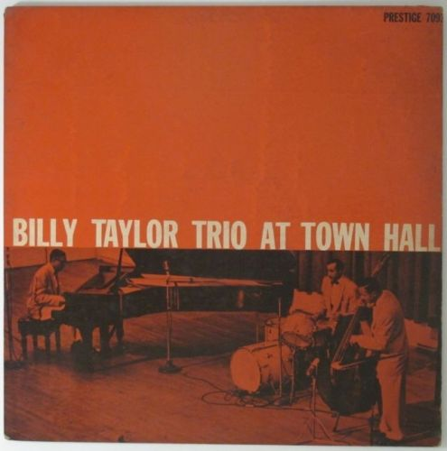 billy taylor trio at town hall 7093