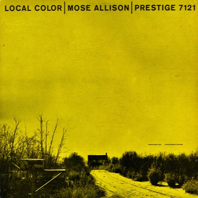 mose allison - local color 7121