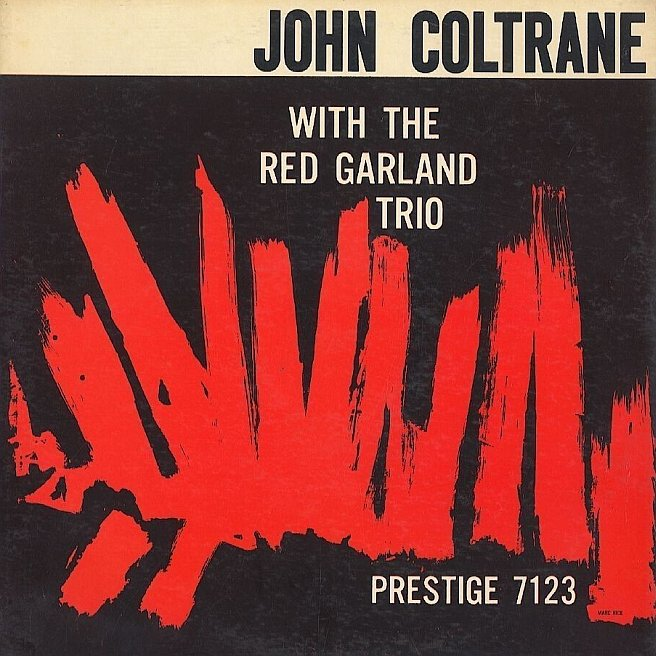 john coltrane red garland trio 7123 first cover