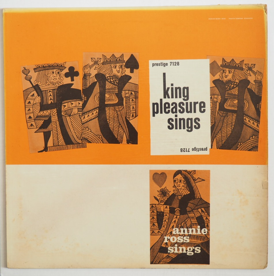 king pleasure sings annie ross sings 7128
