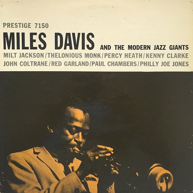 miles davis - and the modern jazz giants 7150