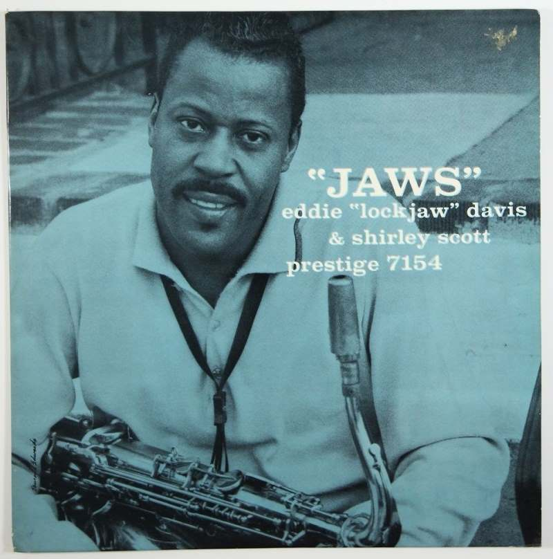 eddie davis - shirley scott - jaws 7154