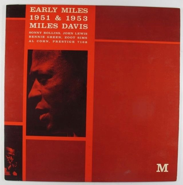miles davis early miles 7168 red