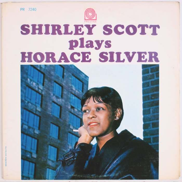 shirley scott - plays horace silver 7240