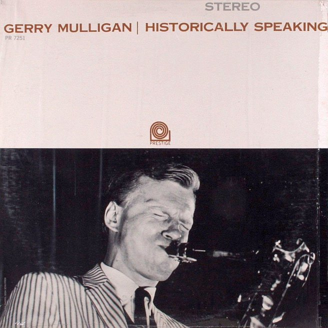 gerry mulligan - historically speaking 7251