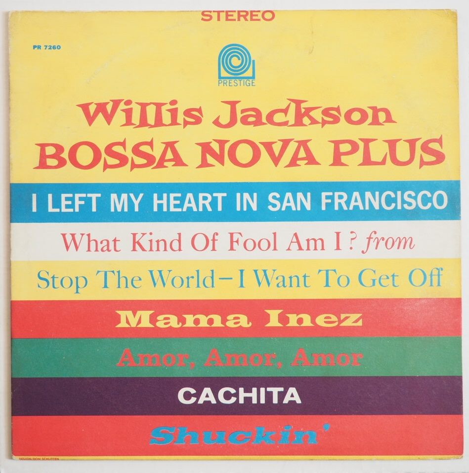 willis jackson - bossa nova plus 7260