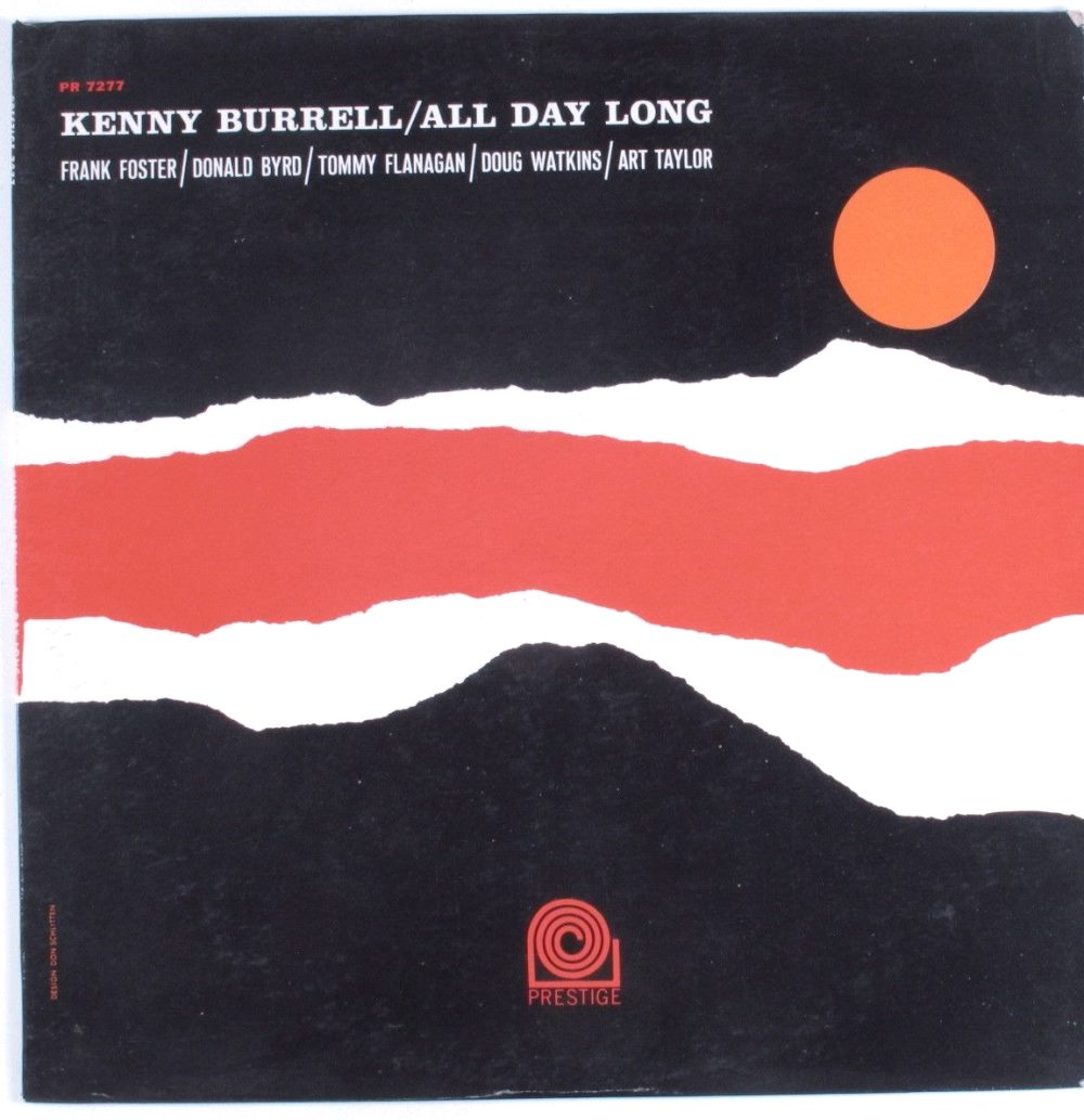 kenny burrell - all night long 7277