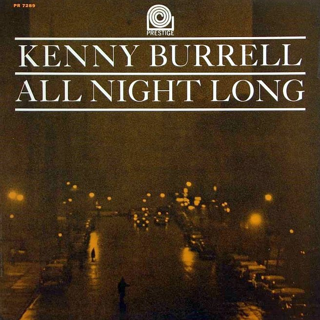 kenny burrell - all night long 7289