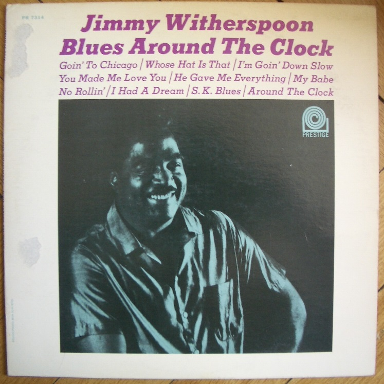 jimmy witherspoon - blues around the clock 7314