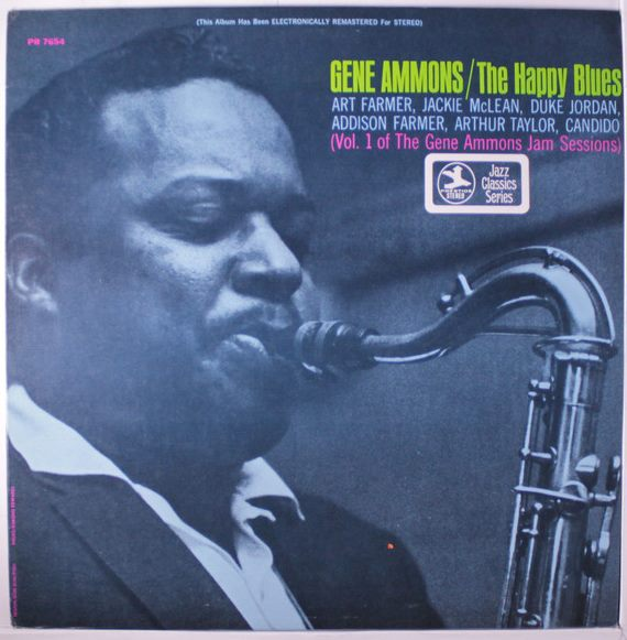 gene ammons - jam sessions 7654