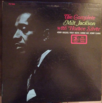 complete milt jackson with horace silver 7655