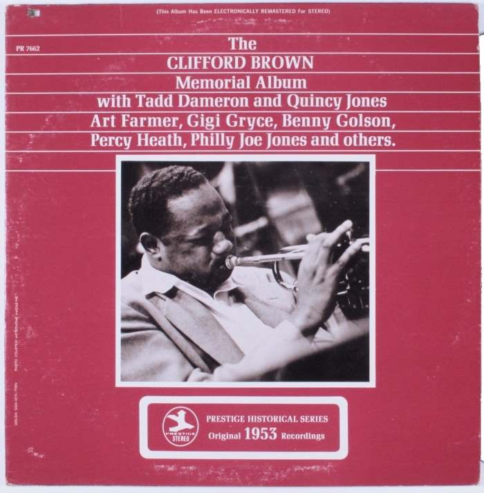clifford brown memorial album 7662