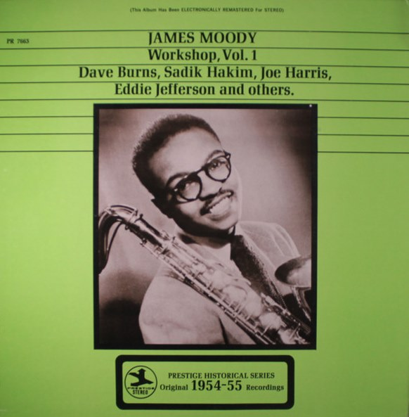 james moody workshop vol. 1 7663