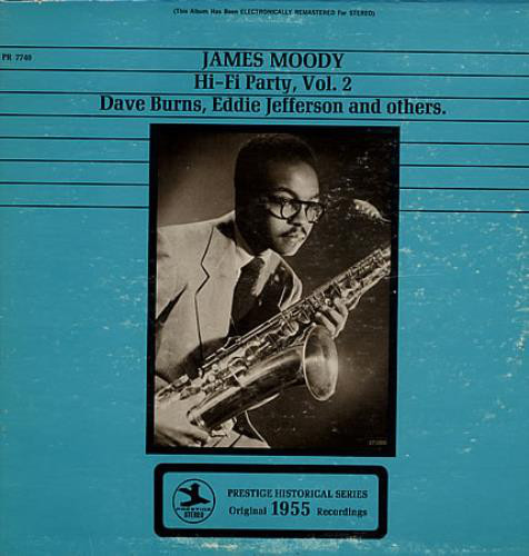 james moody - hi-fi party vol. 2 7740