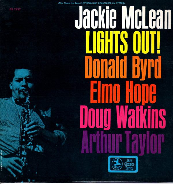 jackie mclean - lights out 7757