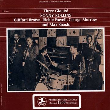 sonny rollins - clifford bornw - 3 giants 7821