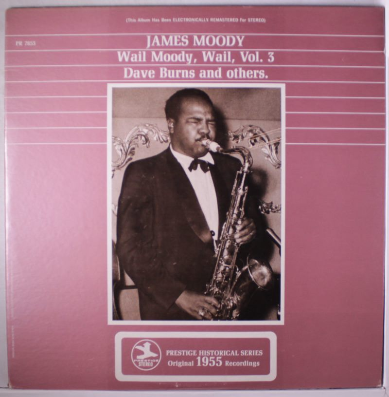 james moody - wail moody, wail vol. 3 7853