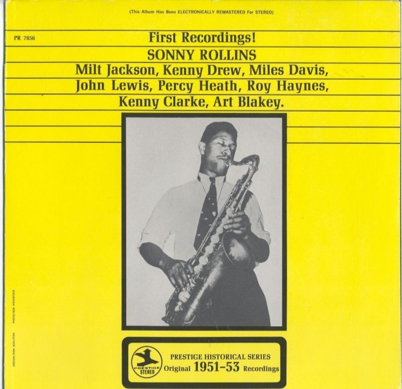 sonny rollins - first recordings 7856