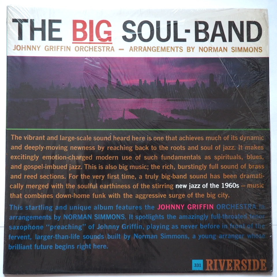johnny griffin - the big-soul band