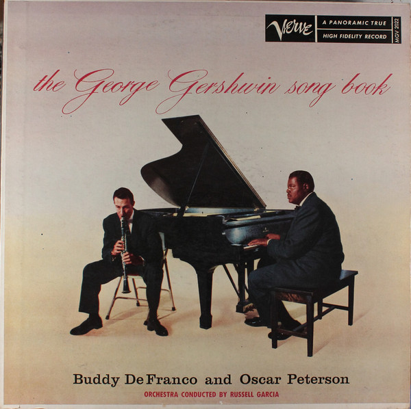 buddy defranco - oscar peterson - play george gershwin mgv 2022