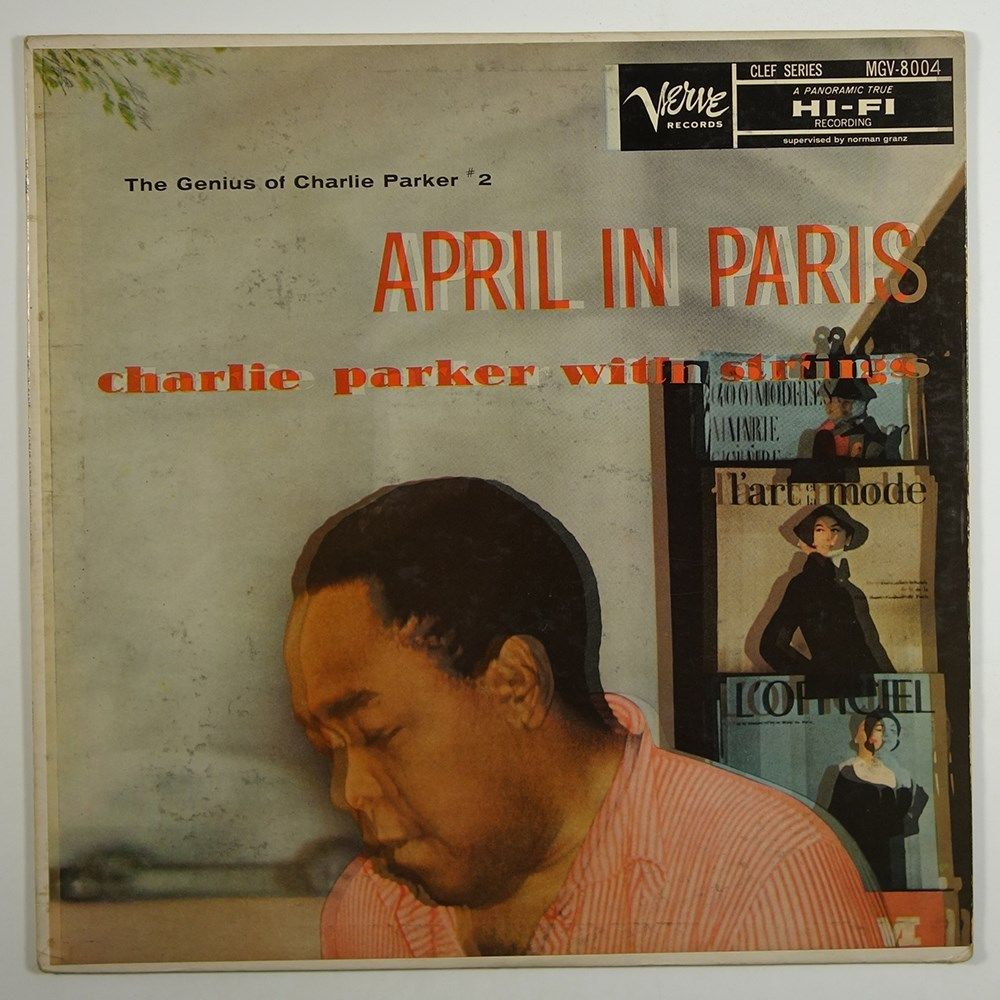 charlie parker - april in paris 8004