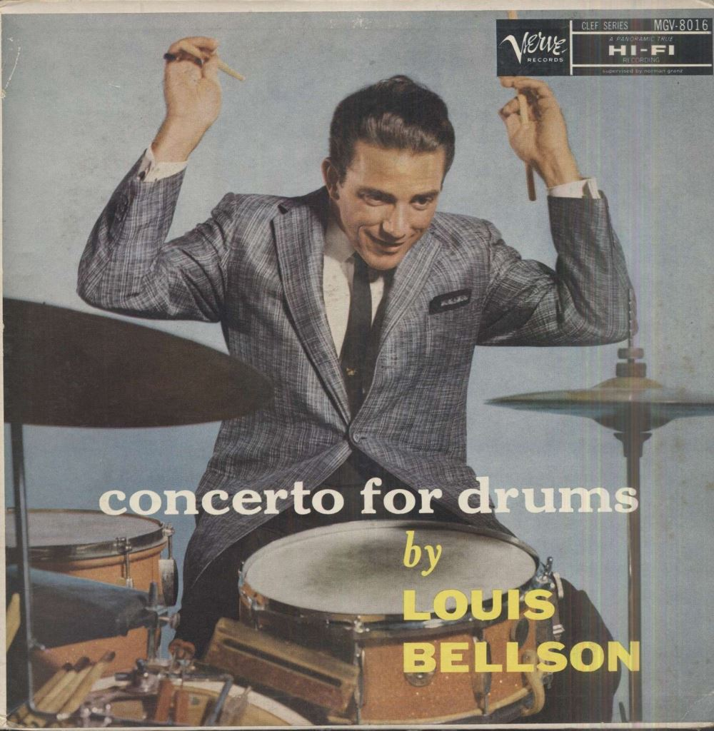 louis bellson - concerto for drums