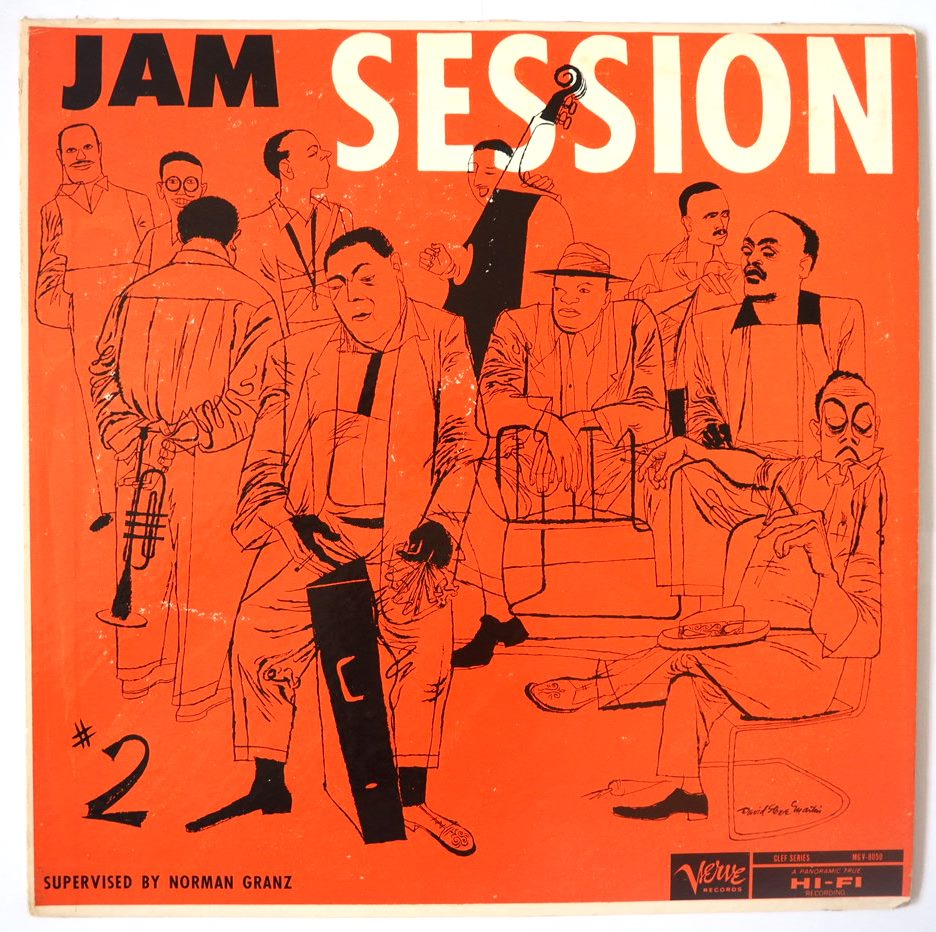 norman granz jam session #2 8050