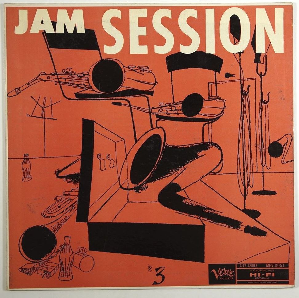 norman granz jam sessions 3 8051