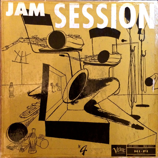 norman granz jam session 4 8052