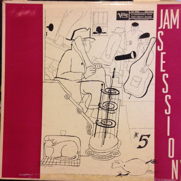 norman granz jam session 5 8053