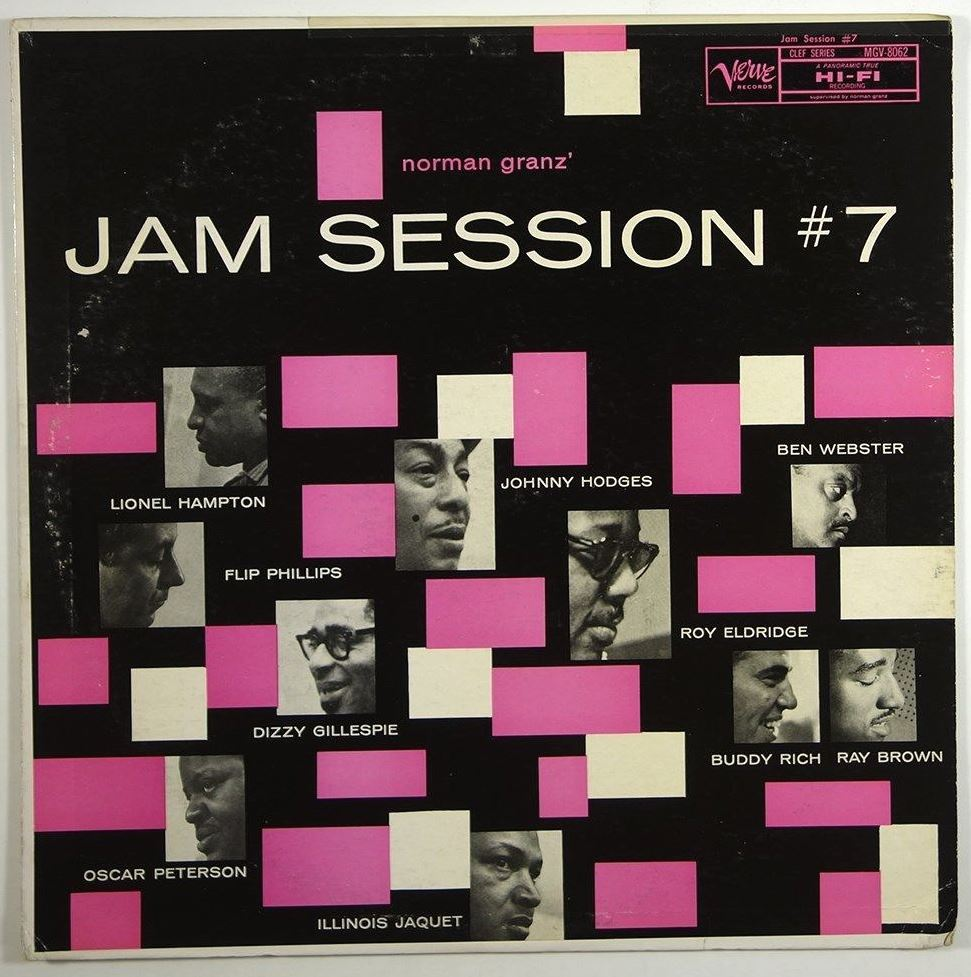 norman granz jam session #7 8062