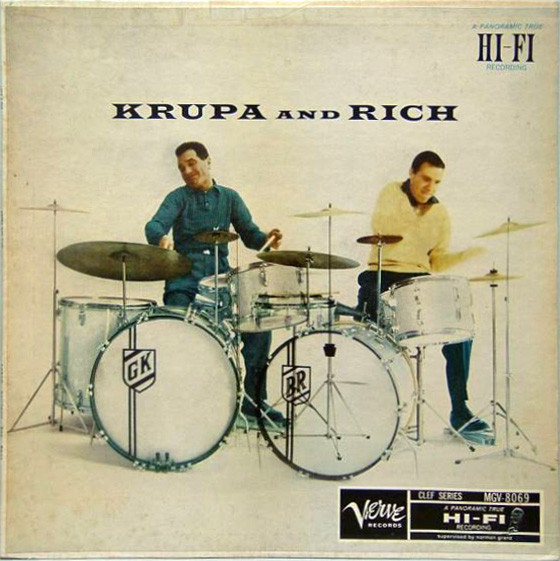 gene krupa - buddy rich 8069