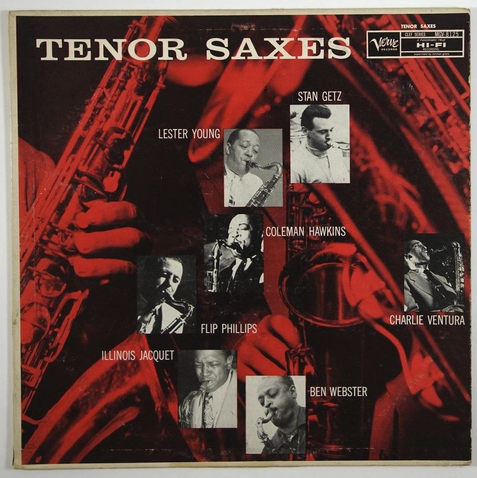 various artists - tenor saxes mgv 8125