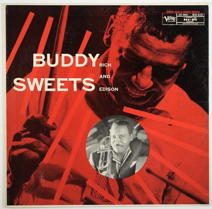 buddy rich - harry edison - buddy and sweets 8129