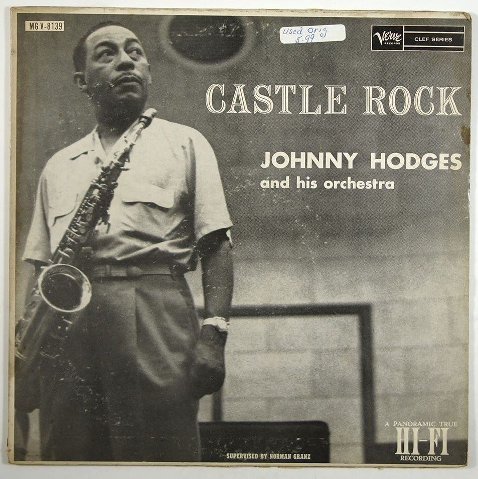 johnny hodges - castle rock 8139
