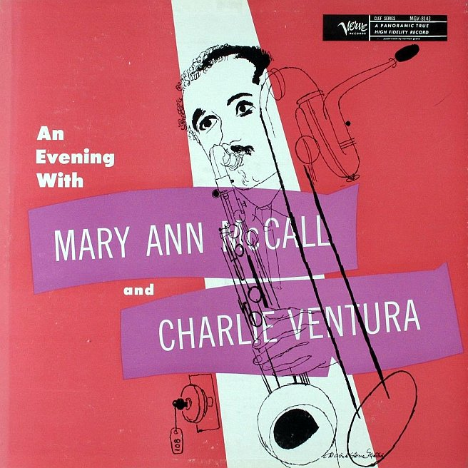 mary ann mccall - charlie ventura - an evening with 8143