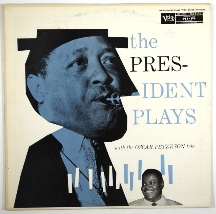 lester young - the president plays with oscar peterson trio 8144