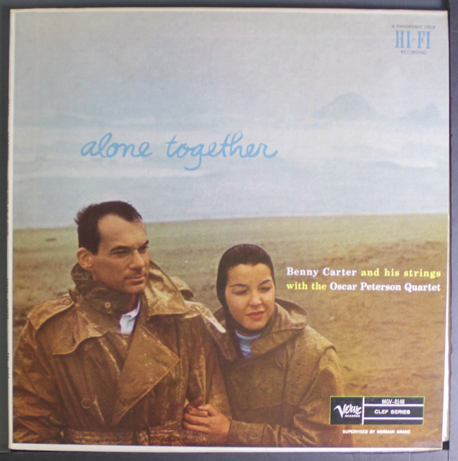benny carter - alone together mgv 8148