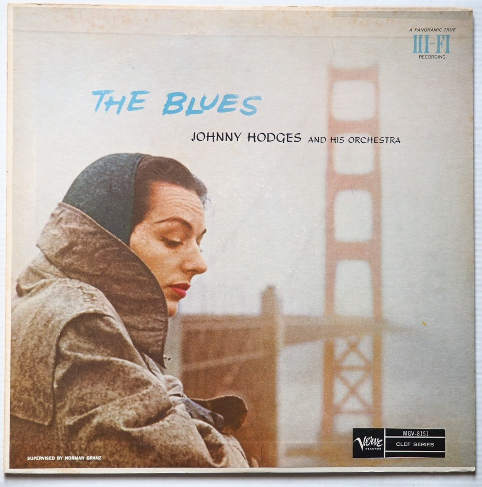 johnny hodges - the blues mgv 8151