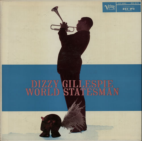 dizzy gillespie - world statesman 8174