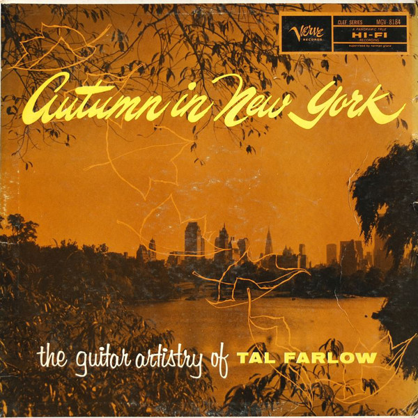 tal farlow - the guitar artistry autumn in new york mgv 8184