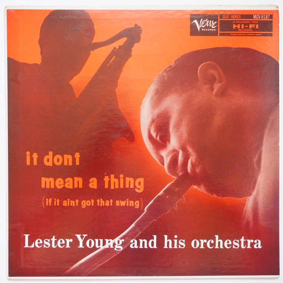 lester young - it don't mean a thing mgv 8187