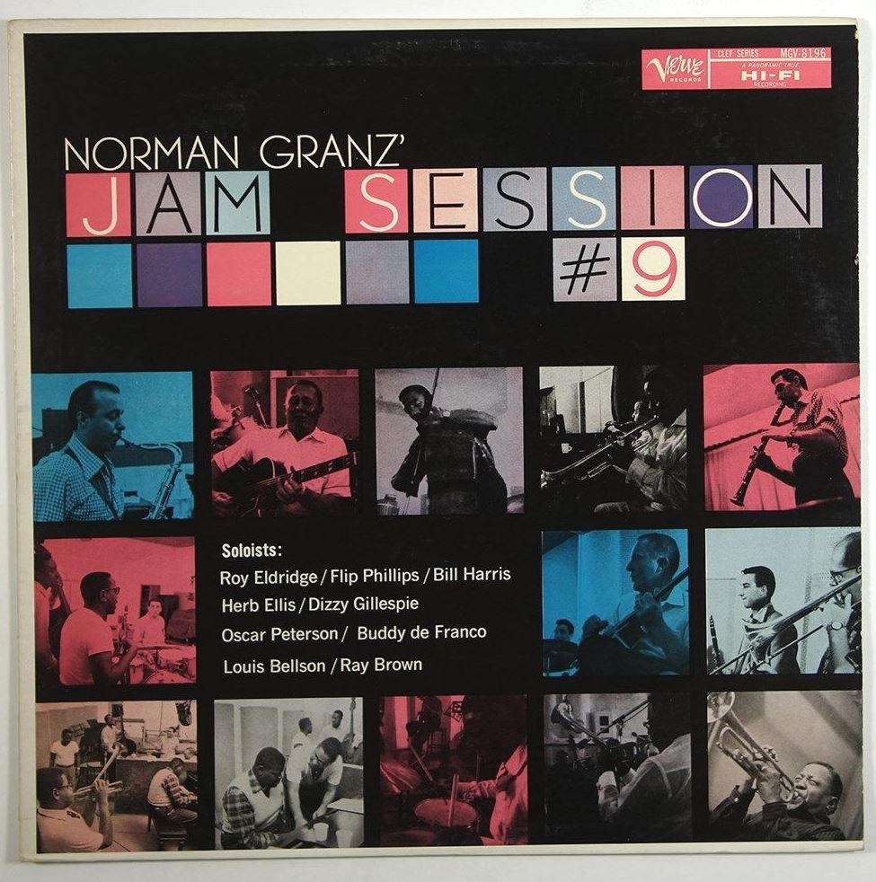 norman granz jam sessions 9 mgv 8196