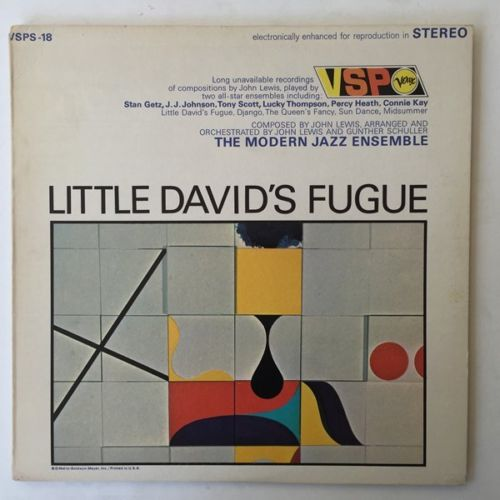 modern jazz ensemble - little david's fugue