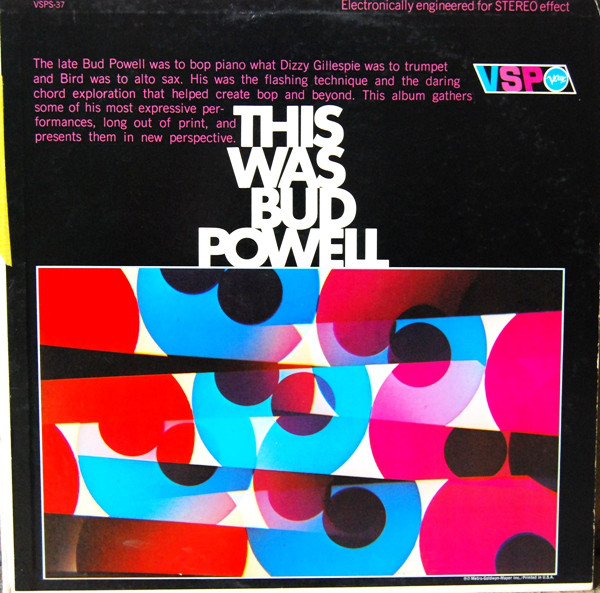 bud powell - genius vsp 37